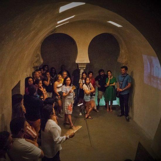 Baño islámico medieval del Angel, en Toledo. Acceso exclusico en la ruta nocturna Toledo es Sueño, de Imagine Toledo