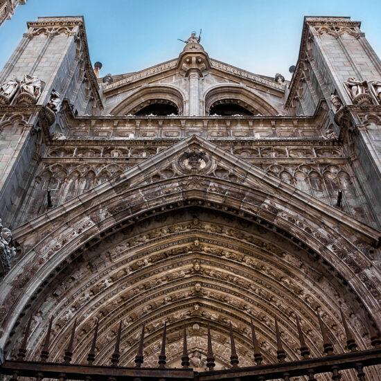 Portada principal de la Catedral de Toledo