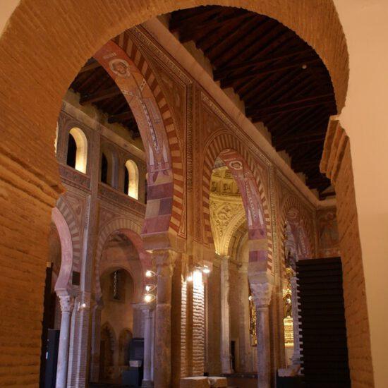 Interior mudéjar de la Iglesia de San Román de Toledo